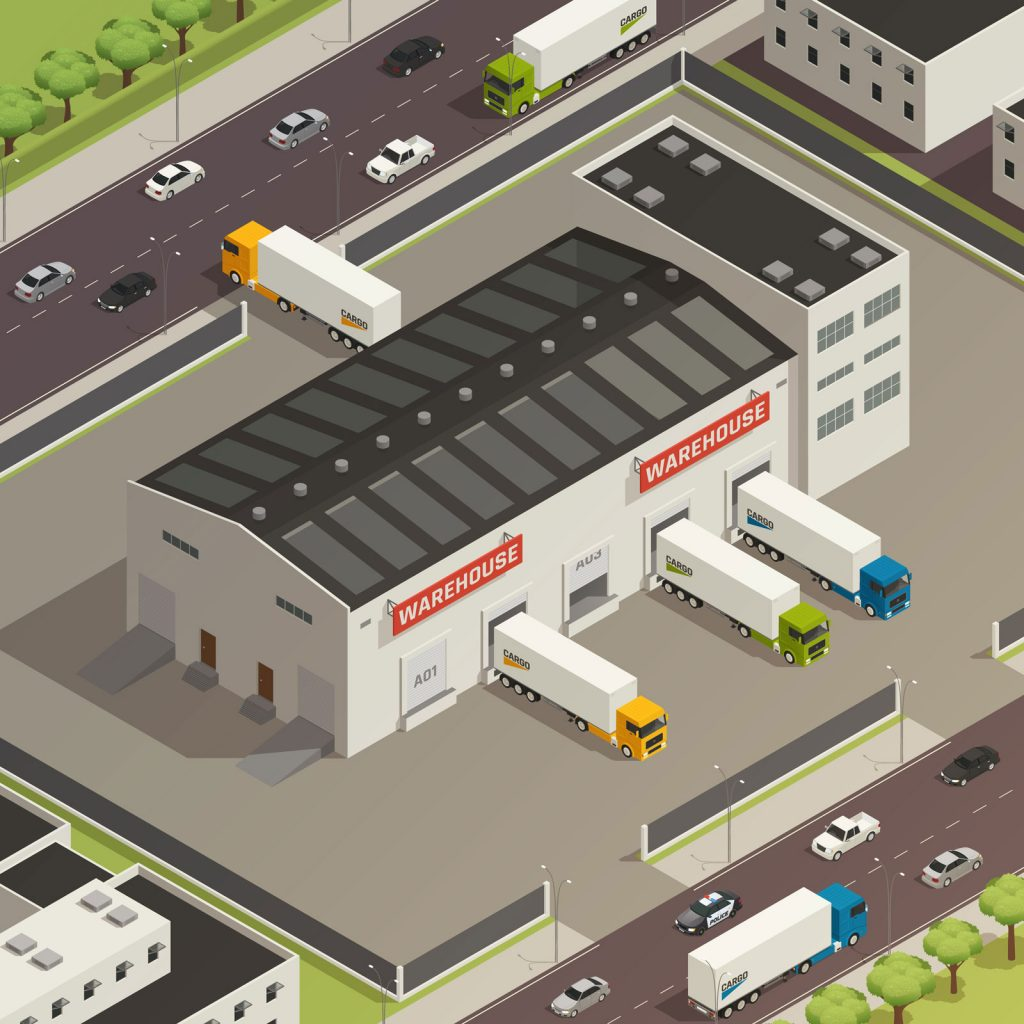 Warehouse-storage