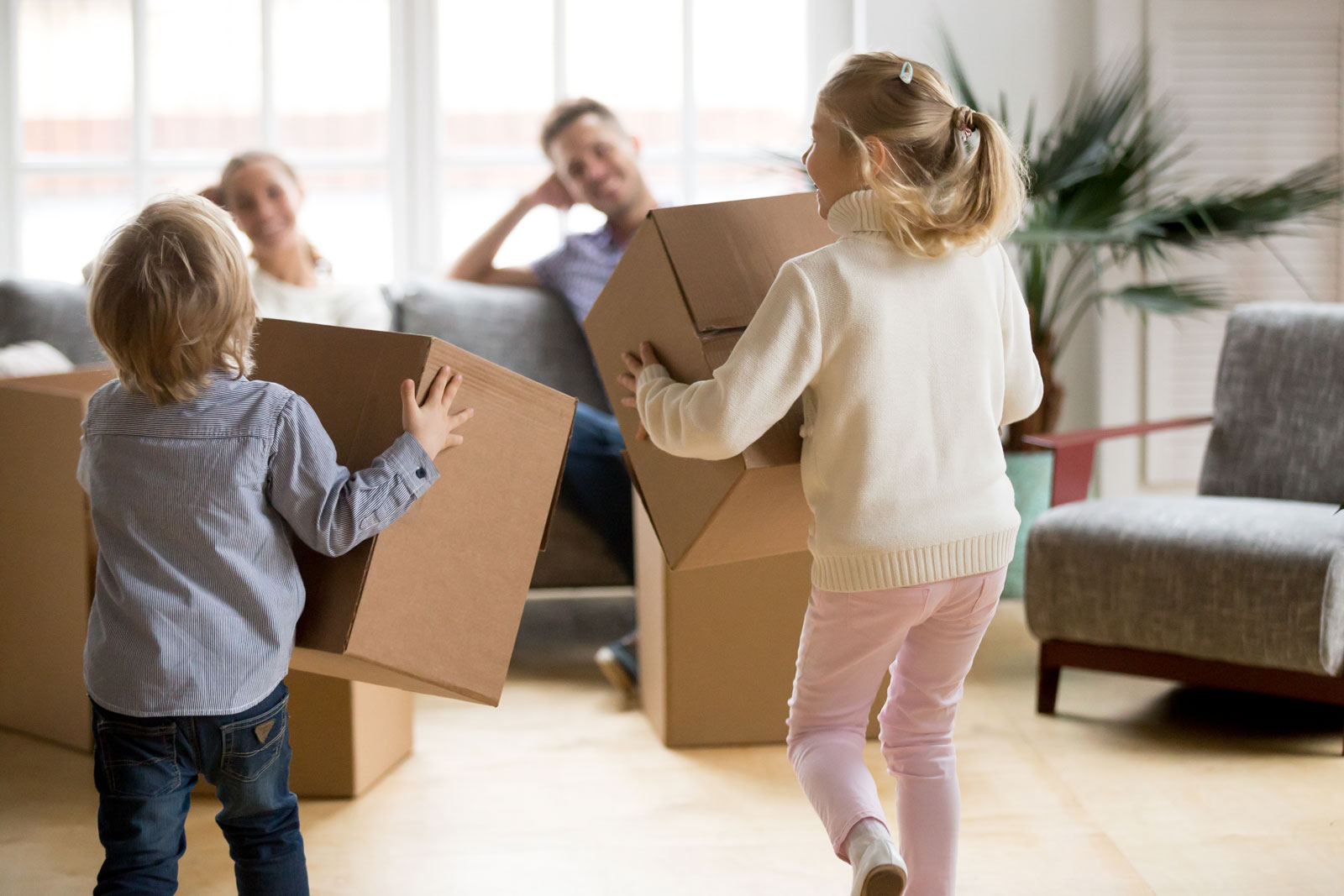 How Corporate Relocations Affect Children